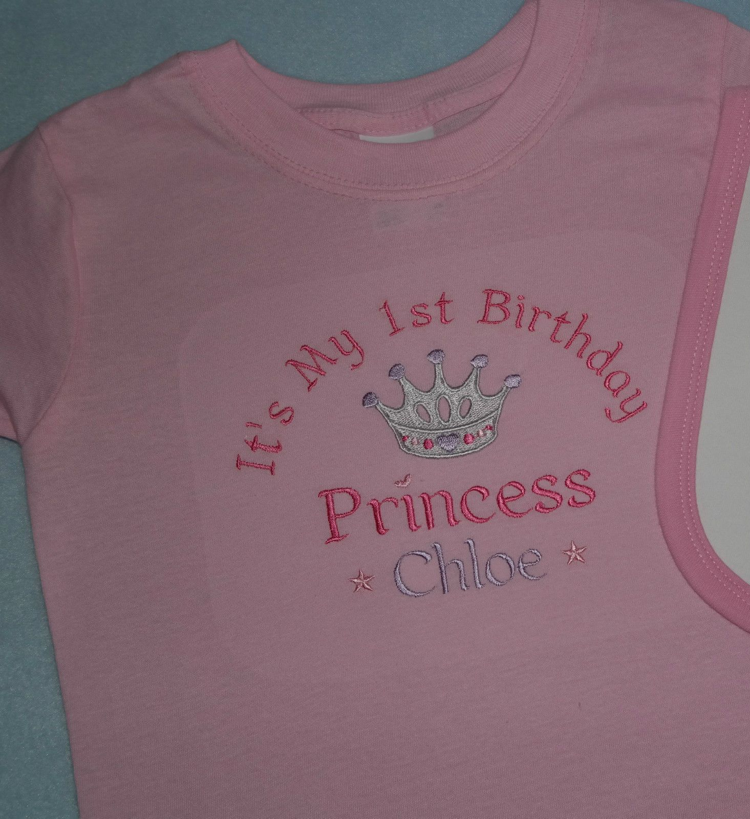 Personalised First Birthday T Shirts